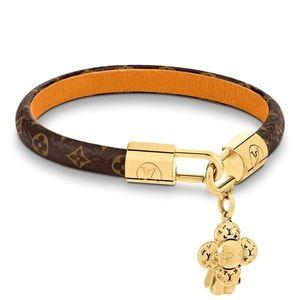 NEW! Louis Vuitton Monogram Gold Vivienne Bracelet